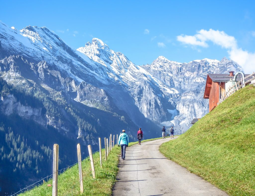 Gimmelwald, Switzerland | Hiking in the Swiss Alps | Murren | mountains