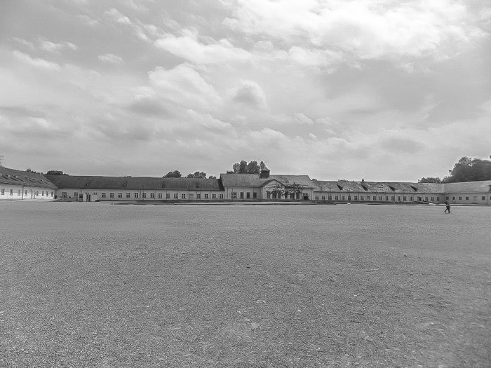 Visiting Dachau Concentration Camp memorial site | outside Munich, Germany | World War 2 | WWII | Maintenance Building