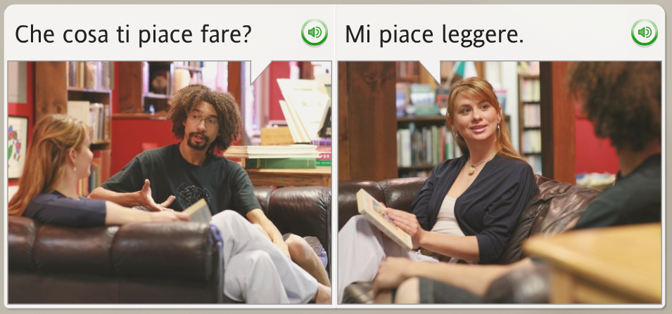 The funniest Rosetta Stone stock images: Italian, what are you doing