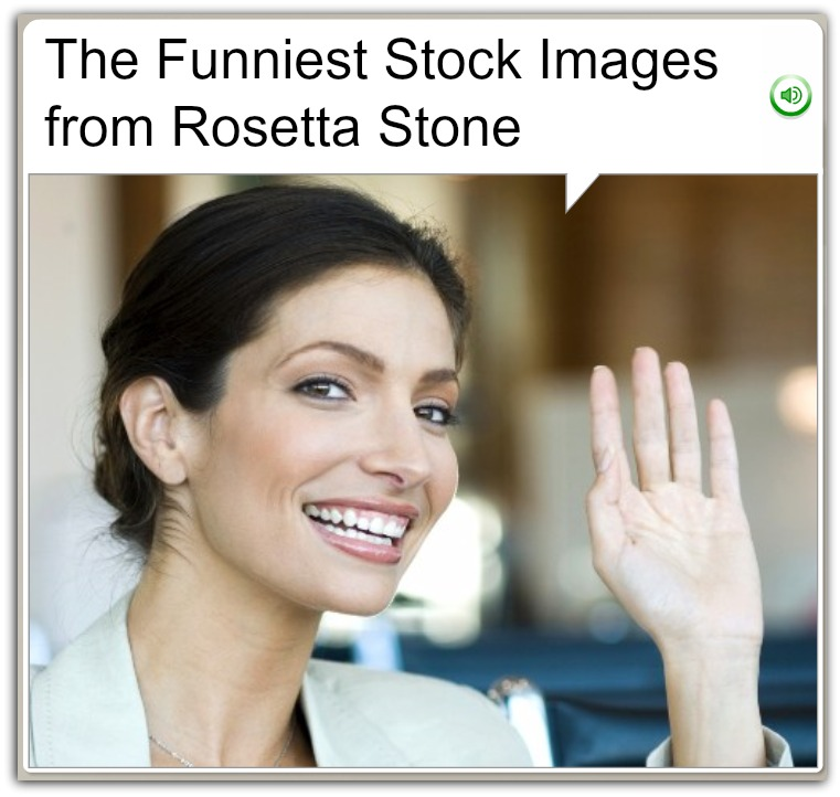 Funniest images from Rosetta Stone header