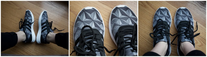 Epcot | Spaceship Earth | Adidas sneakers | Epcot Food and Wine Festival | Disney World | comfortable shoes