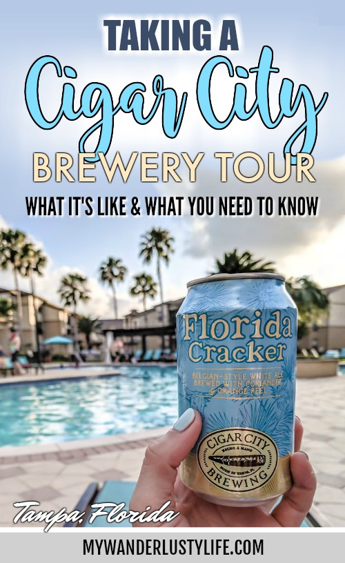 What it's like taking a Cigar City Brewery Tour | Tampa, Florida #beer #tampa #florida #cigarcity #jaialai #craftbeer