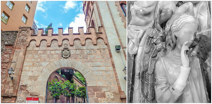 Day trip to Montserrat | 4 days in Barcelona, Spain, Catalonia | Things to do in Barcelona | What to do in Barcelona | Catholic monastery | Catalunya | 1 day in Montserrat | Serrated Mountains | exterior