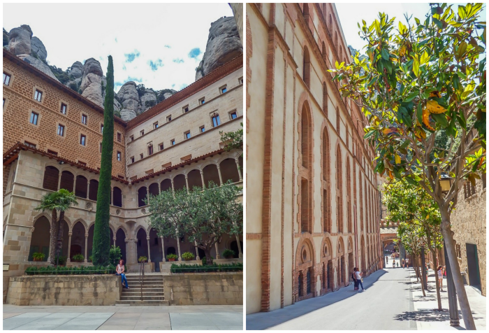 Day trip to Montserrat | 4 days in Barcelona, Spain, Catalonia | Things to do in Barcelona | What to do in Barcelona | Catholic monastery | Catalunya | 1 day in Montserrat | Serrated Mountains | plaza