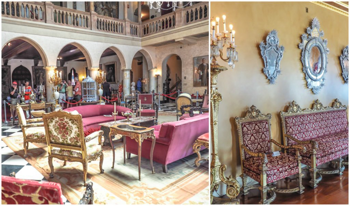 The Ringling // Getting My Italy Fix in Florida | Ringling | Ringling art museum and sculpture garden | Sarasota, Florida | The Ringling art museum | Ca' d'Zan inside