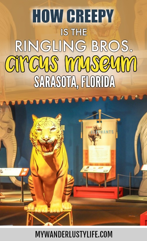 How creepy is the Ringling Brothers Circus Museum in Sarasota, Florida? / Barnum and Bailey Circus / The Ringling #circus #ringling #sarasota #florida #circusmuseum #ringlingbros #barnumandbailey