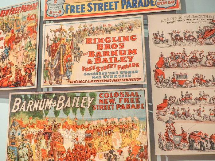 How creepy is the Ringling Brothers Circus Museum | Sarasota, Florida | Barnum and Bailey Circus | Greatest Show on Earth | The Greatest Showman | Circus history | Clowns | What to do in Sarasota | Vintage posters