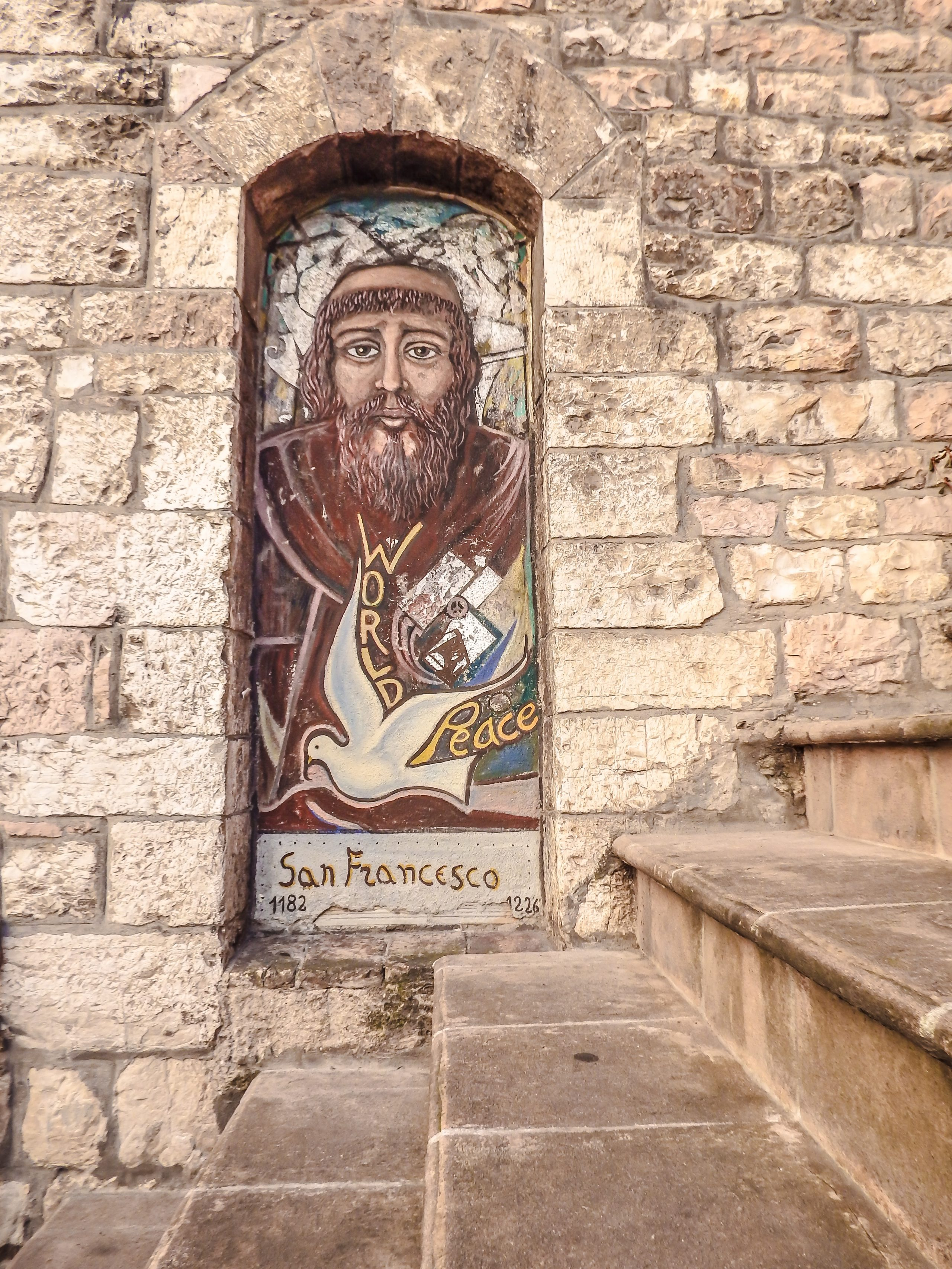 Exploring the medieval streets and history of St. Francis in this small Umbrian town during a day trip to Assisi, Italy