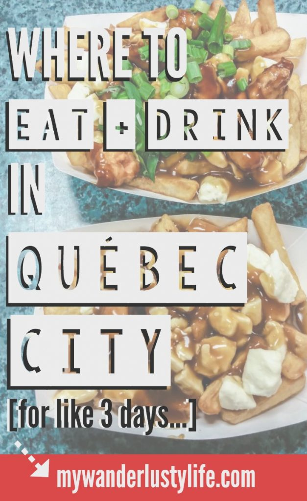 The best places to eat and drink in Québec City, Canada