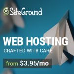 Siteground web hosting is the best there is.