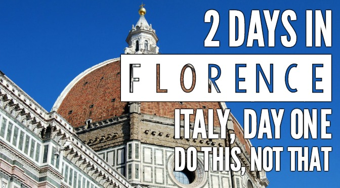 2 days in Florence, Day one, travel tips, dos and don'ts. Exploring Palazzo Vecchio, Duomo, Arno River and ponte vecchio, david, baptistery, gates of paradise, boboli gardens, outdoor markets, street art, and piazzale michelangelo all in one day. #traveltips #florence #italy