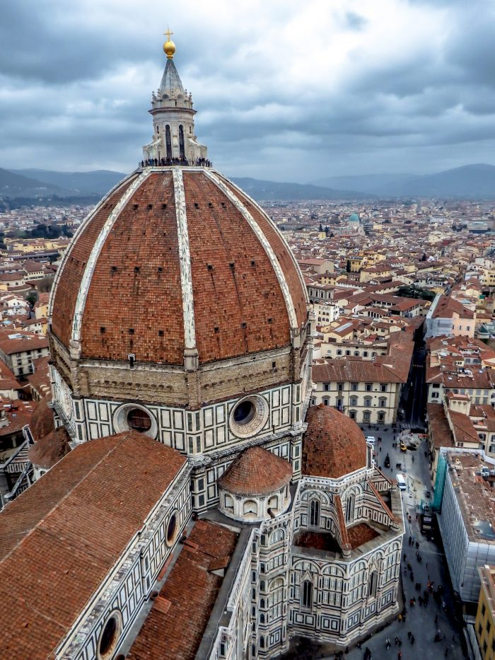 Day Two of 2 Days in Florence, Italy // The view from the top of the bell tower, Giotto's Campanile