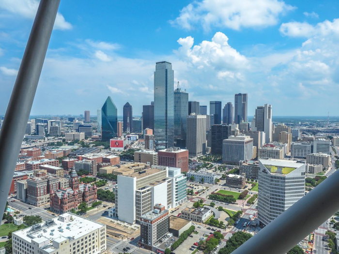 3 cities in 3 days in Texas | Dallas, Austin, San Antonio | What to do in Texas | Where to go in Texas | What to see in Texas | Dallas CityPASS | Best view in Dallas, Reunion Tower