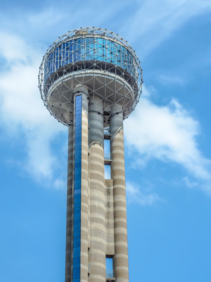 Reunion Tower, Dallas, Texas // Part of the Dallas CityPASS