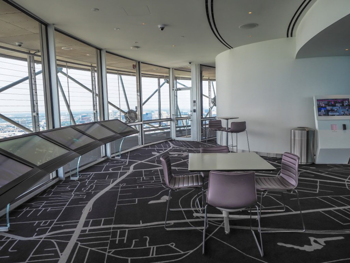 Inside Reunion Tower in Dallas, Texas // Dallas CityPASS