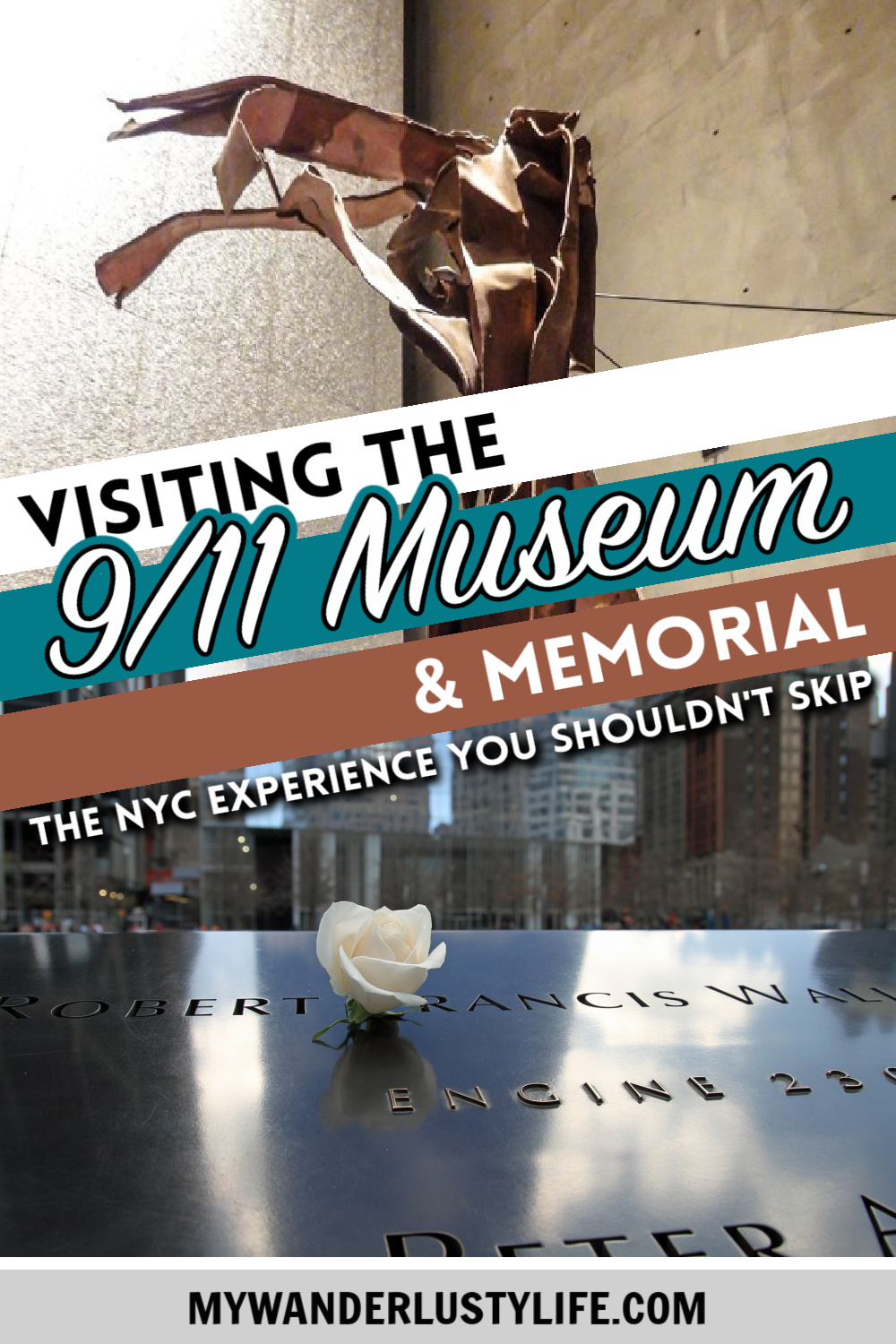 Visiting the 9/11 Museum and Memorial in New York City: A photo essay and personal reflection. What the experience is like, what you can see, One World Trade Center observatory