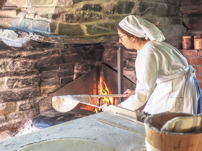 24 hours in Oslo, Norway -- Freshly baked bread at the Norwegian Folk Museum