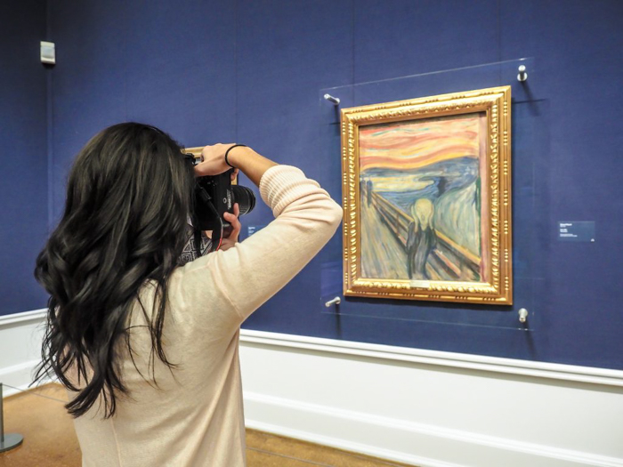 What to do with 24 hours in Oslo, Norway: Oslo National Gallery and Edvard Munch's The Scream