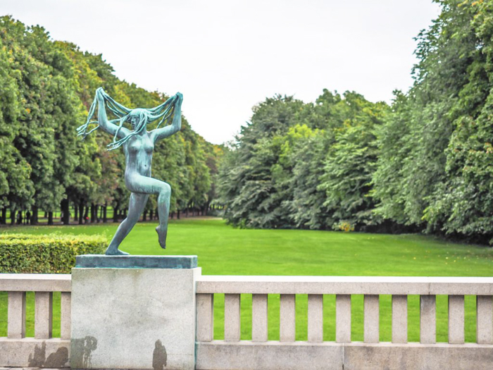 24 hours in Oslo, Norway -- Vigeland Sculpture Park