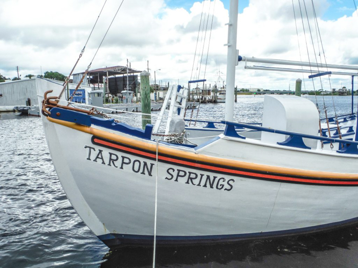 Greeking out at the Tarpon Springs Sponge Docks | What to do in the Tampa Bay area | Greek community | Greek food | Sponge capital of the world | sponge diving boat