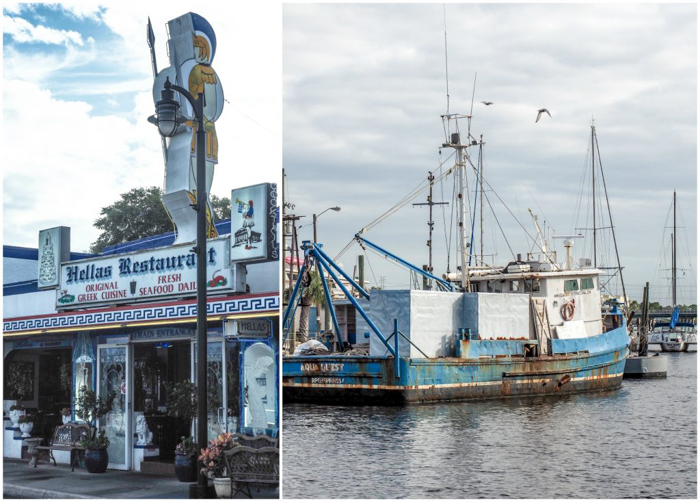 Greeking out at the Tarpon Springs Sponge Docks | What to do in the Tampa Bay area | Greek community | Greek food | Sponge capital of the world | Hellas Greek Restaurant