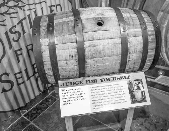 Jack Daniel's Distillery tour in Lynchburg, Tennessee | Tennessee Whiskey | perfect day trip from Nashville | Southern lunch at Miss Mary Bobo's Boarding House | Jack Daniel's Honey | Jack Daniel's Fire | Gentlemen Jack | Jack Daniel's Single Barrel Select | Old no. 7 | barrel
