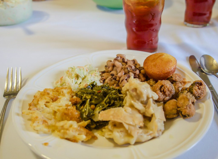 Jack Daniel's distillery tour | lunch at Miss Mary Bobo's Boarding House Restaurant | Lynchburg, Tennessee
