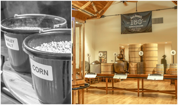 Jack Daniel's Distillery tour in Lynchburg, Tennessee | Tennessee Whiskey | perfect day trip from Nashville | Southern lunch at Miss Mary Bobo's Boarding House | Jack Daniel's Honey | Jack Daniel's Fire | Gentlemen Jack | Jack Daniel's Single Barrel Select | Old no. 7 | visitor's center