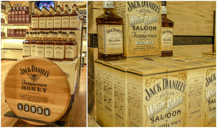 Jack Daniel's Distillery tour in Lynchburg, Tennessee | Tennessee Whiskey | perfect day trip from Nashville | Southern lunch at Miss Mary Bobo's Boarding House | Jack Daniel's Honey | Jack Daniel's Fire | Gentlemen Jack | Jack Daniel's Single Barrel Select | Old no. 7 | white rabbit bottle shop