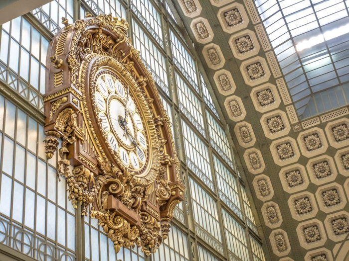 3 days in Paris, France | Paris Museum Pass | Paris Passlib' | Paris Visite | Musée d'Orsay | clock interior