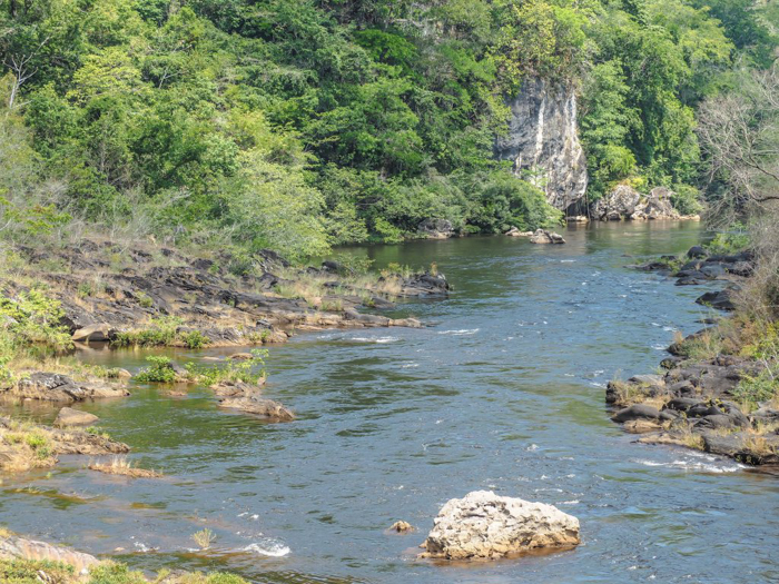 River near ATM Cave in Belize | Map | San Ignacio, Belize | Cayo District | Tapir Mountain Nature Reserve | Actun Tunichil Muknal | Maya | Mayan archaeological site | skeletal remains | Cave of the Sone Sepulcher | Pacz Tours