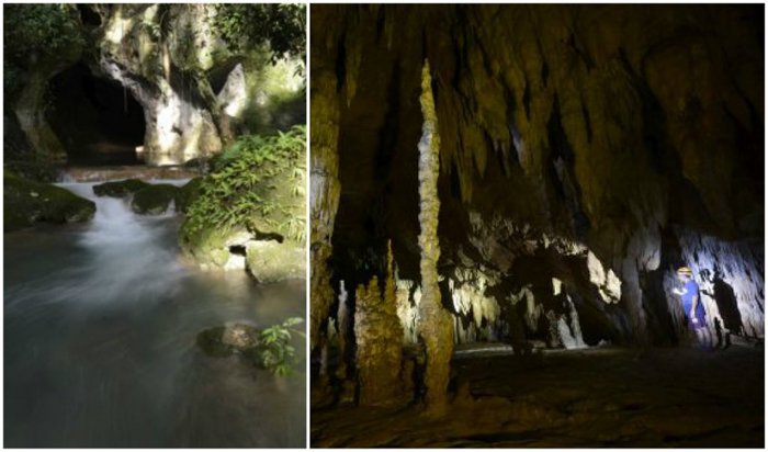 Entrance and Inside of the ATM Cave in Belize | Map | San Ignacio, Belize | Cayo District | Tapir Mountain Nature Reserve | Actun Tunichil Muknal | Maya | Mayan archaeological site | skeletal remains | Cave of the Sone Sepulcher | Pacz Tours