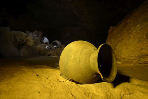 Ancient pottery / Touring the ATM Cave in Belize: Tips, Advice, Expectations, and more