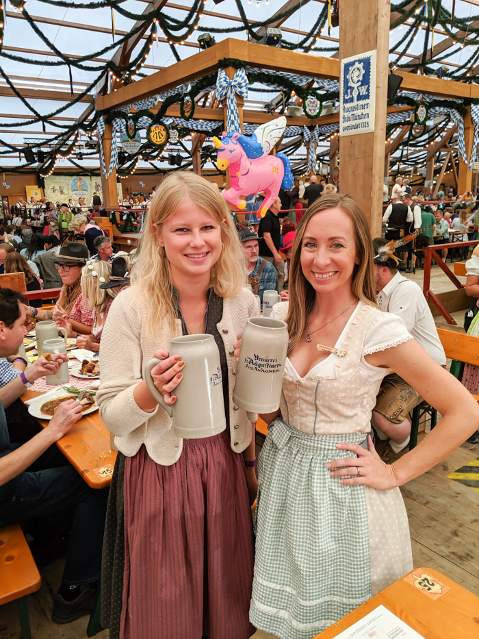 cute dirndl sweater | How to dress for Oktoberfest, a Complete and Honest Oktoberfest Packing Guide for dirndls | What to wear to Oktoberfest in Munich, Germany #oktoberfest #dirndl #munich #germany #festival #beerfestival