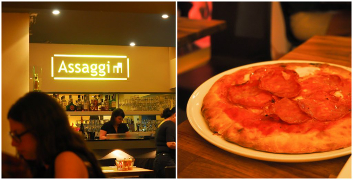 3 days in Amterdam | Italian dinner at Assagi restaurant | Pizza | Jordaan