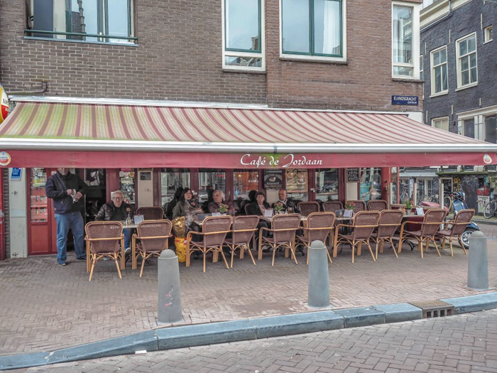 Cafe de Jordaan exterior / patio | 3 days in Amsterdam, Netherlands