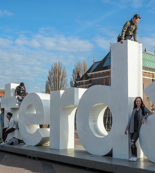 I AMSTERDAM sign | 3 days in Amsterdam, Netherlands