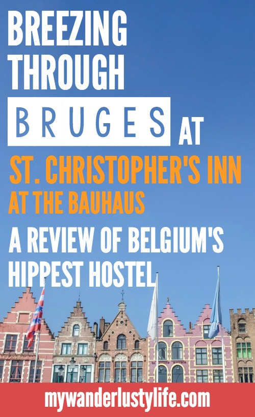Review of St. Christopher's Inn at the Bauhaus in Bruges, Belgium | Hostel review | Brugge