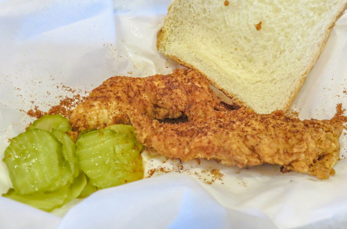 An exploration of Nashville Hot Chicken | Bolton's Spicy Chicken and Fish | Nashville, Tennessee | chicken and waffles, chicken tenders, spicy fried chicken | Southern cuisine | Soul food | mild tenders