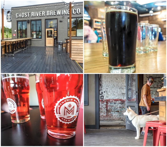 Memphis craft breweries | High Cotton Brewing Co. | Craft beer in Downtown / Midtown Memphis, Tennessee | Wiseacre Brewing Co., Midtown, Broad Avenue | Memphis Made Brewing | Ghost River Brewing