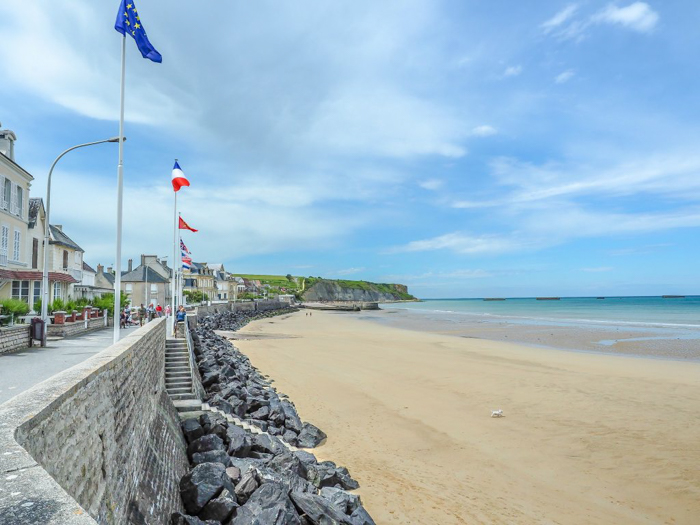 The best D-Day sites to visit in Normandy, France | WWII | WW2 | Arromanches | beach town