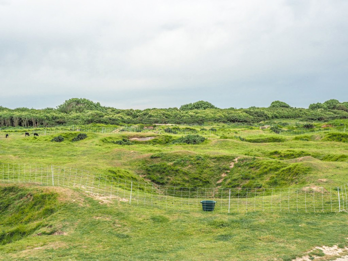 The best D-Day sites to visit in Normandy, France | WWII | WW2 | Pointe du Hoc | Bomb craters