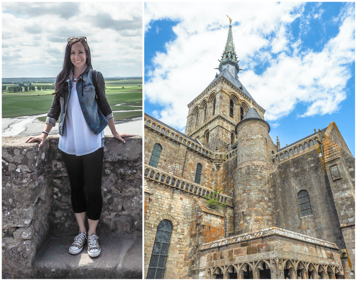 It's actually worth visiting Mont Saint Michel | Normandy, France | Medieval abbey on an island | Bucket list | Disney fairy tale castle inspiration | Mont-St-Michel | me