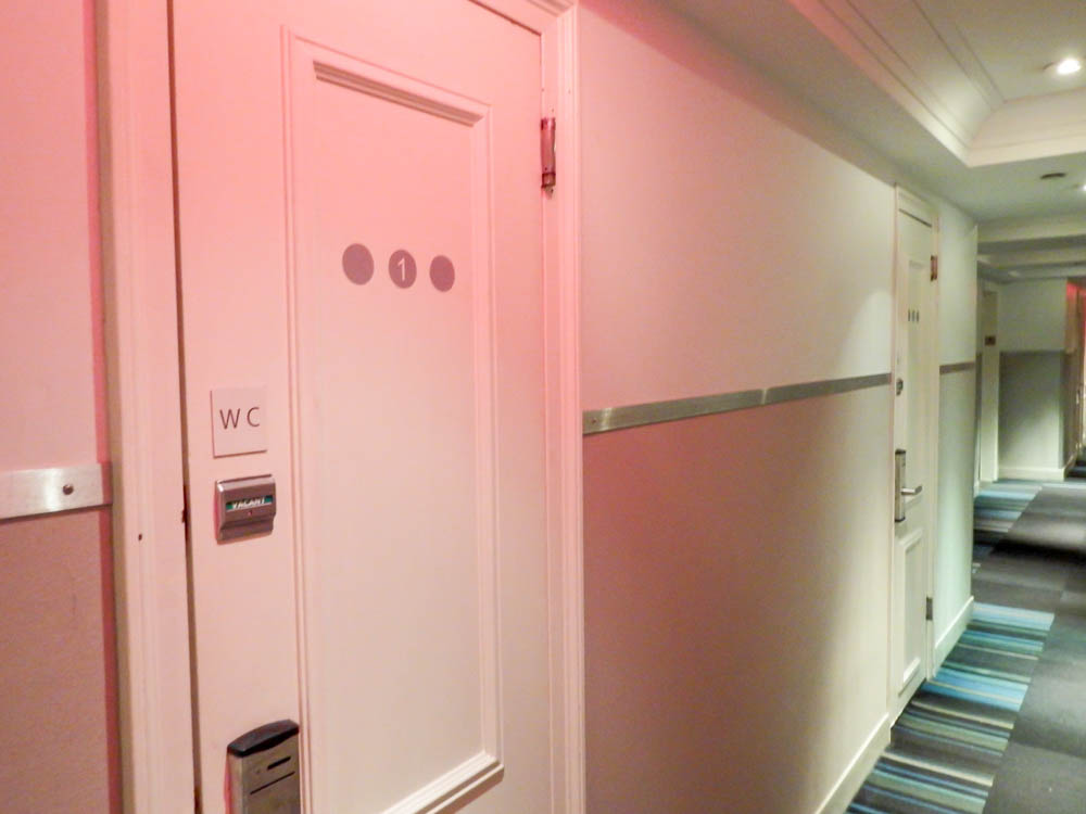 Shared bathrooms | Pod Hotel Review: The Truth About Pod 51 and Pod 39 in New York City | What it's like to stay at a New York Pod Hotel
