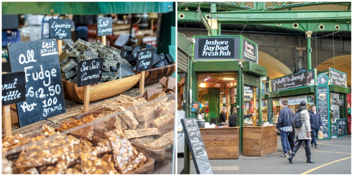 The Best 5-day London Itinerary for First-Time Visitors | London, England, United Kingdom | Borough Market, fudge