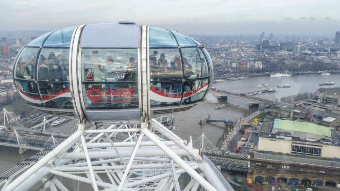The Best 5-day London Itinerary for First-Time Visitors | London, England, United Kingdom | London Eye, capsule