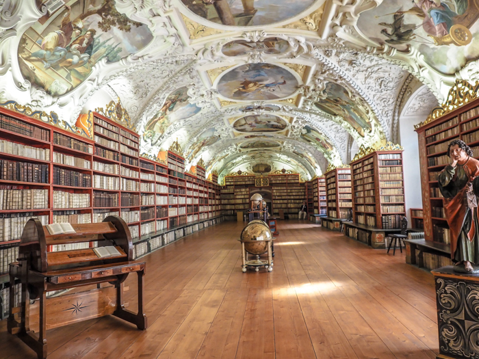 Czeching Out the Best of Prague in 3 Days | Czech Republic | Strahov Monastery Library, Theological Room