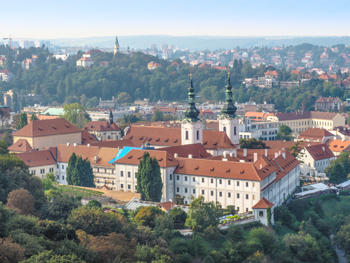 Czeching Out the Best of Prague in 3 Days | Czech Republic | Strahov Monastery view from Petrin Tower