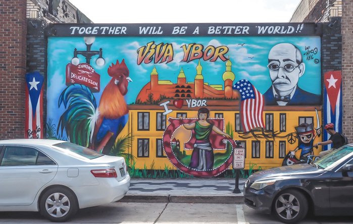 10 ways to spend a day in ybor city tampa my for City of tampa mural