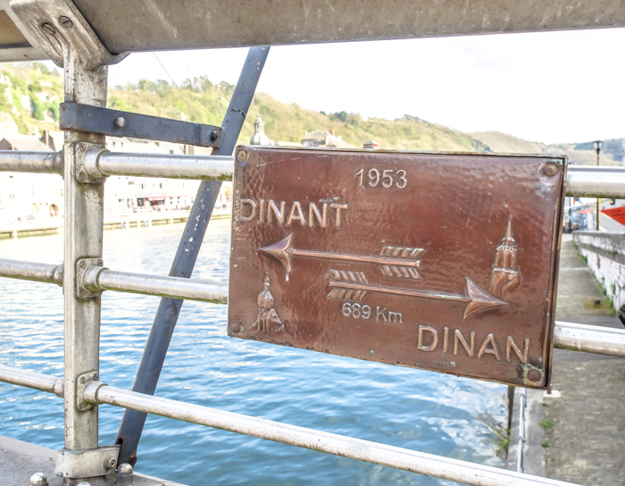 4 days in Belgium | What to see in Dinant | Charles de Gaulle Bridge